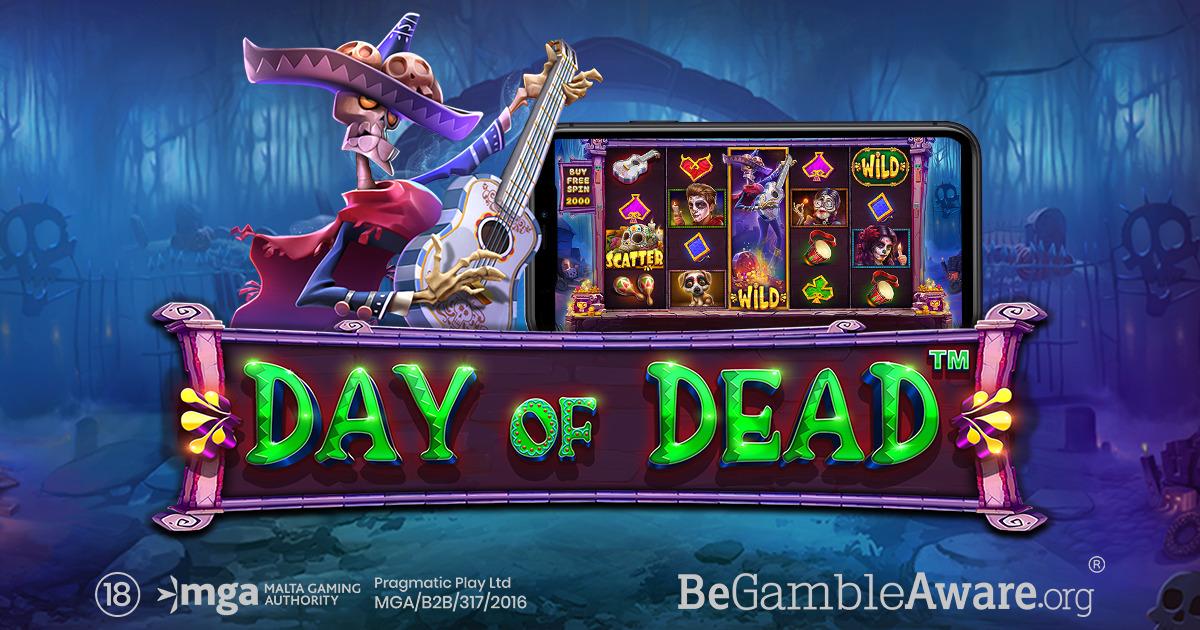 PRAGMATIC PLAY НАЧИНАЕТ ТОРЖЕСТВО С DAY OF DEAD